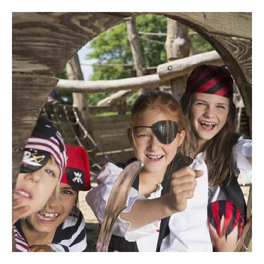 Rimuss beim der Motto- / Themen- Party Piraten / Seefahrer zum Kindergeburtstag