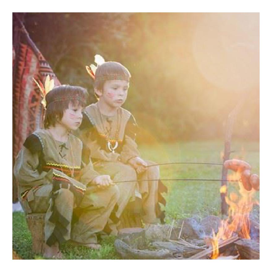 Rimuss beim der Motto- / Themen- Party Indianer / Cowboy / Wilder Westen zum Kindergeburtstag