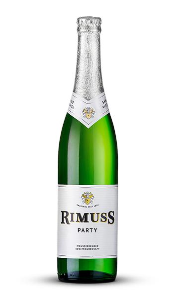 Eine Flasche Rimuss Party. Der Apéro/Aperitif mit dem wirklich alle anstossen.