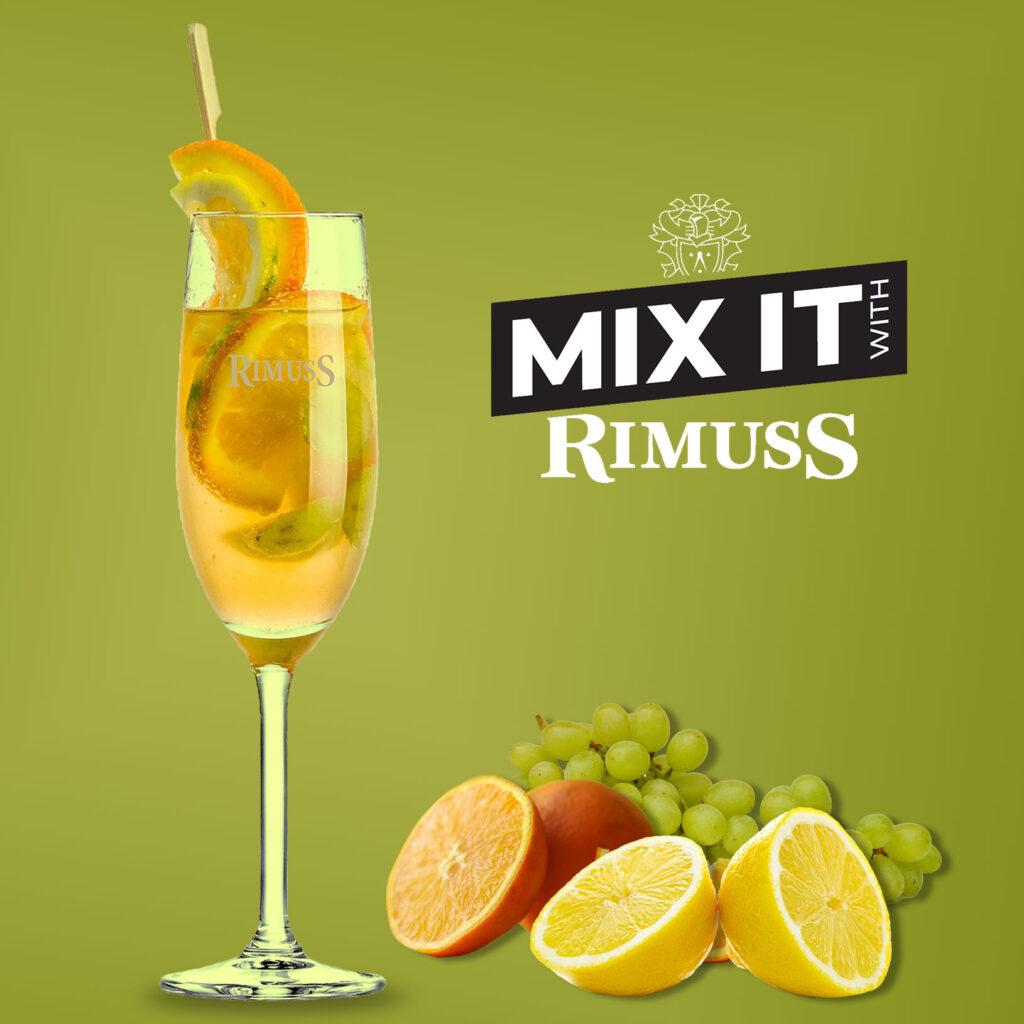 Rimuss Mocktail Citrus-Kick mit Orangen, Zitronen und Trauben