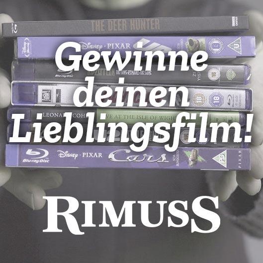 Filmabend mit Apero mit Rimuss. Gewinn deinen Lieblingsfilm
