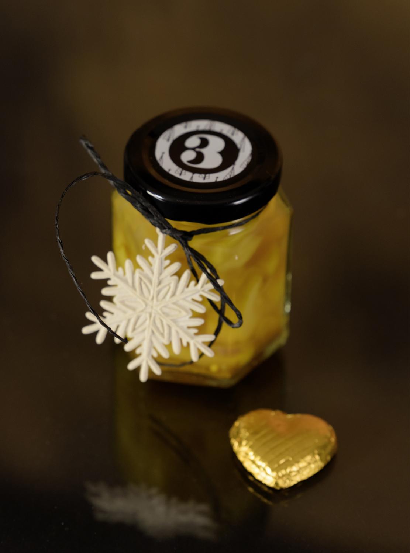 Curry-Zuchetti im Glas für den Rimuss Apero Adventskalender
