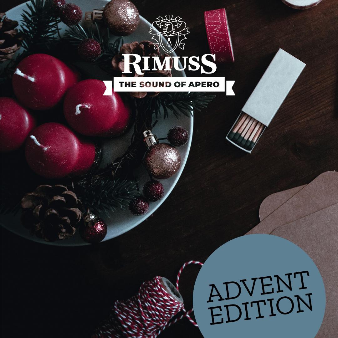 Rimuss Spotify Playlist für den Advents-Apéro mit coolen Weihnachtsliedern zum einstimmen