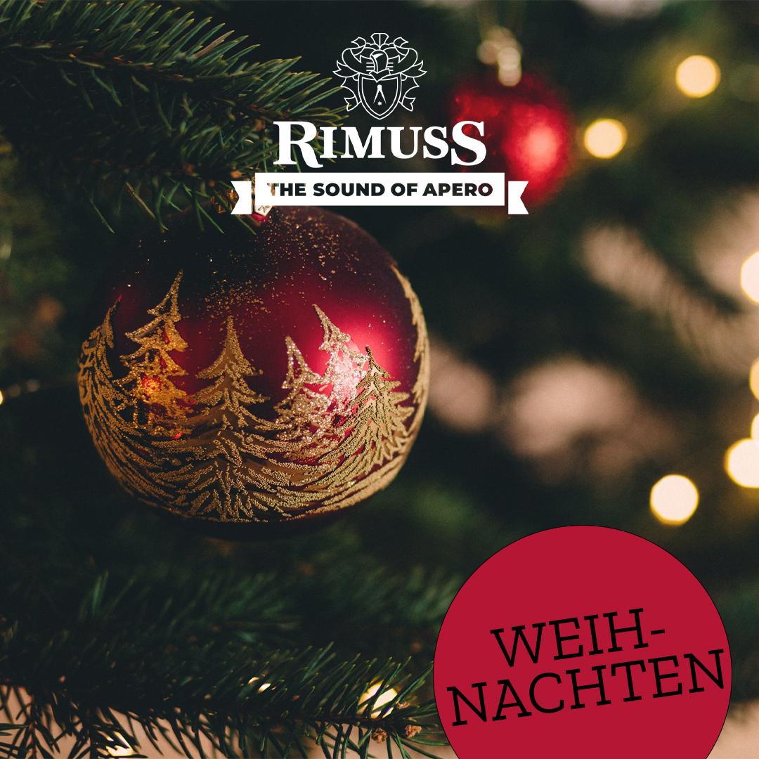 Rimuss Spotify Apéro Playlist Weihnachten. Der perfekte Sound um zusammen Weihnachtslieder zu singen