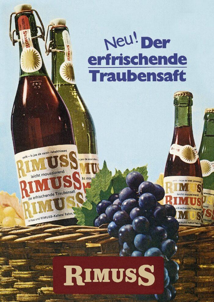 Rimuss in Bügelflaschen 1968