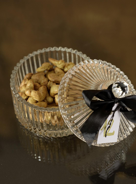 Selbstgemachte Salznüssli im Säckli für den Rimuss Apero Adventskalender