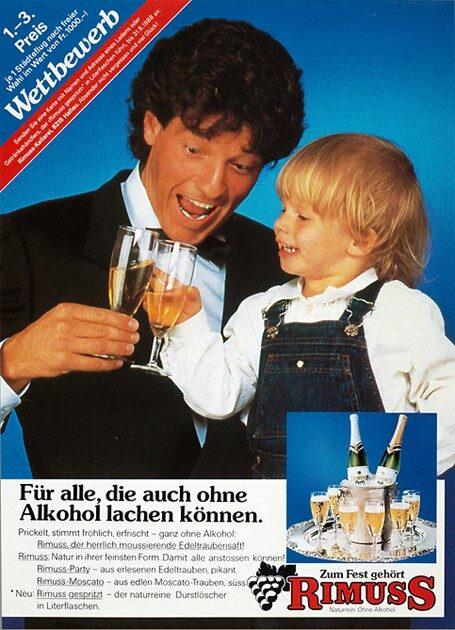 Rimuss Printwerbung Anfang der 80er Jahre 1983