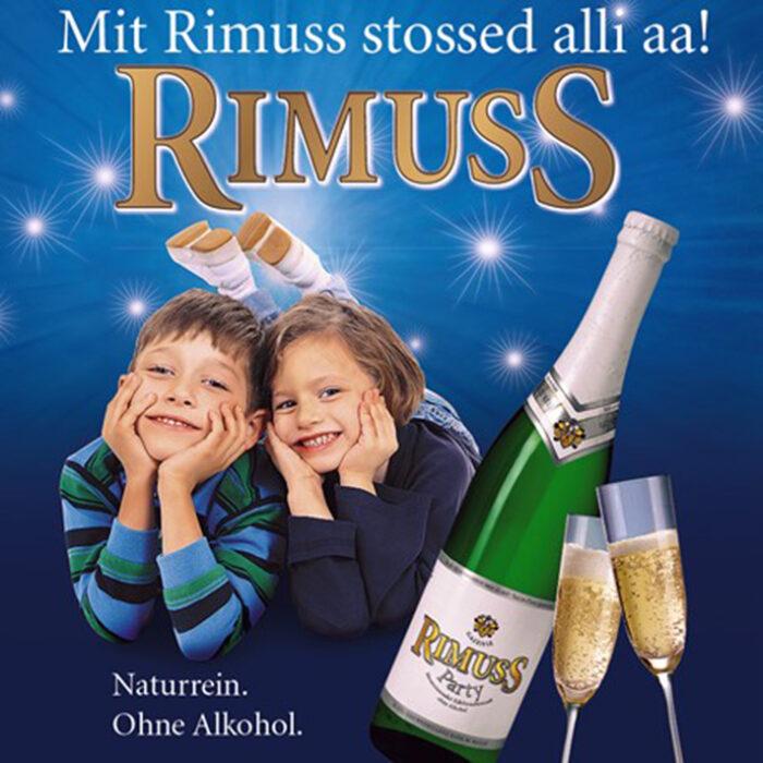 Rimuss Printwerbung mit überarbeitetem Logo 2007