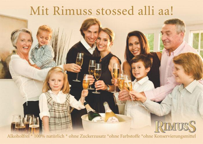 Rimuss Print Werbung aus dem Jahre 2010