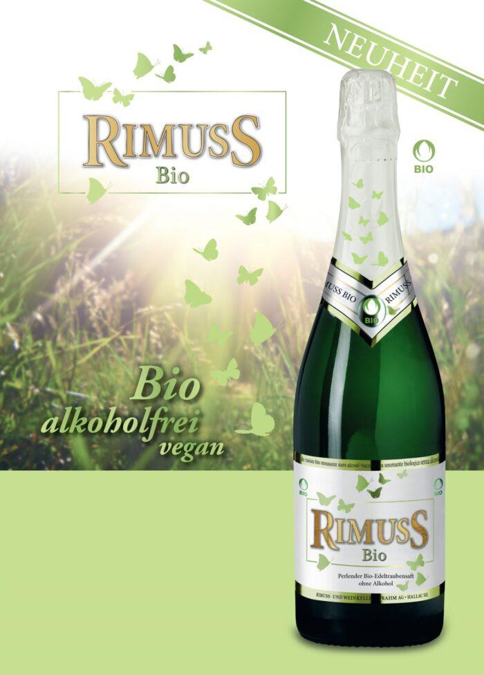 Lancierung des ersten Rimuss in Vegan und Bio Qualität 2016