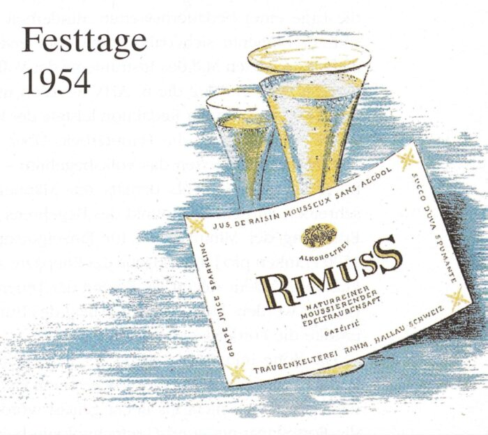 Entwicklung des ersten Rimuss 1954