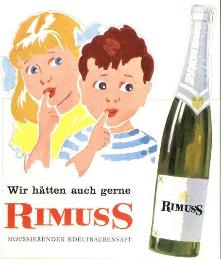 Rimuss Werbung 1960