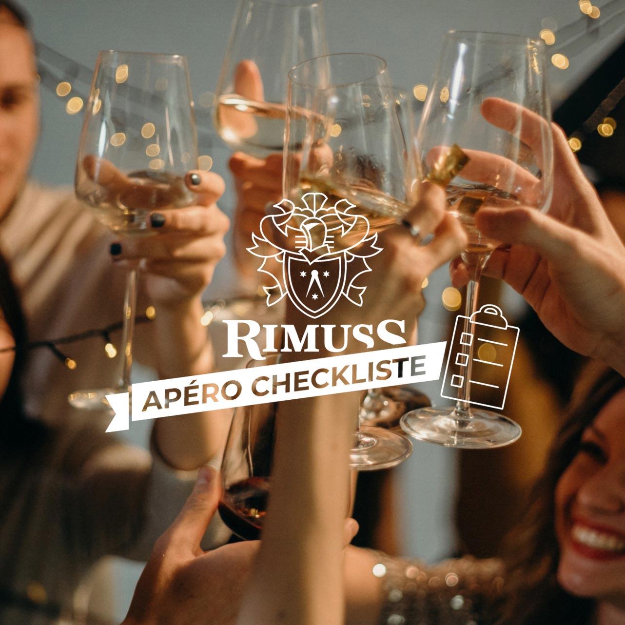 Apéro Checkliste für den Adventsapero von Rimuss