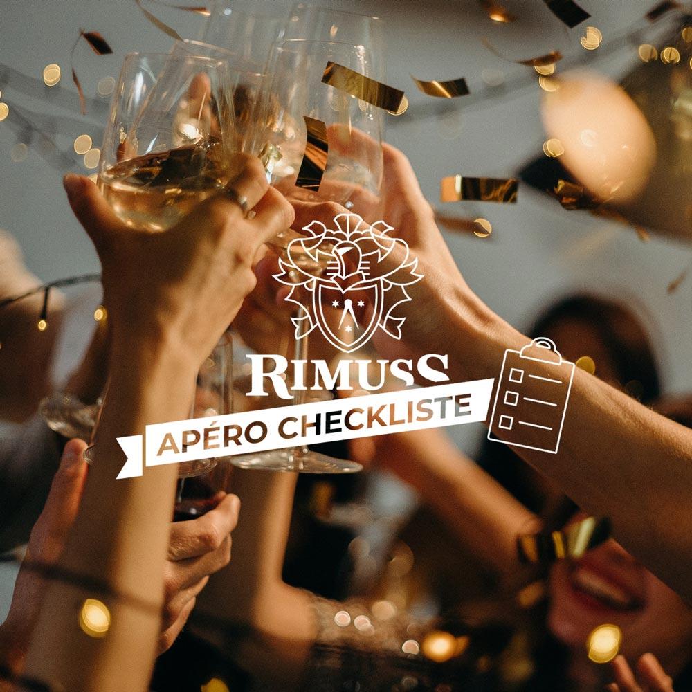 Silvester Checkliste für den perfekten Rimuss Apéro an Silvester