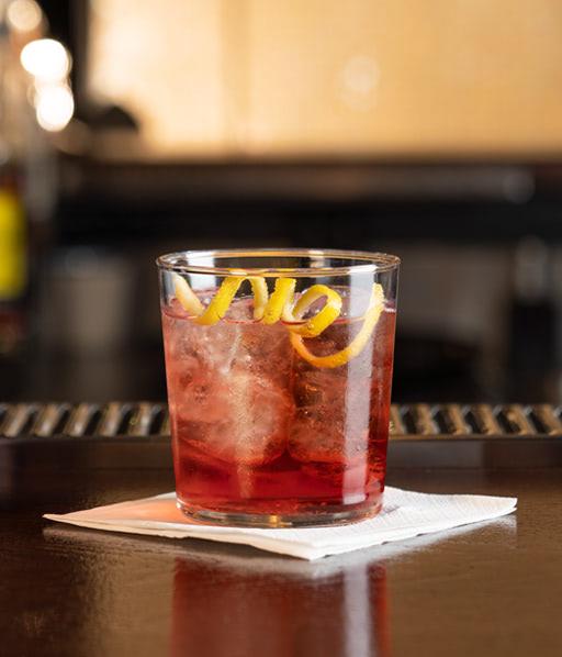 Rimuss Mocktail Cold'n'Dry mit Grnadine, Salz, Tonic Water, Zitrone, Granatapfel