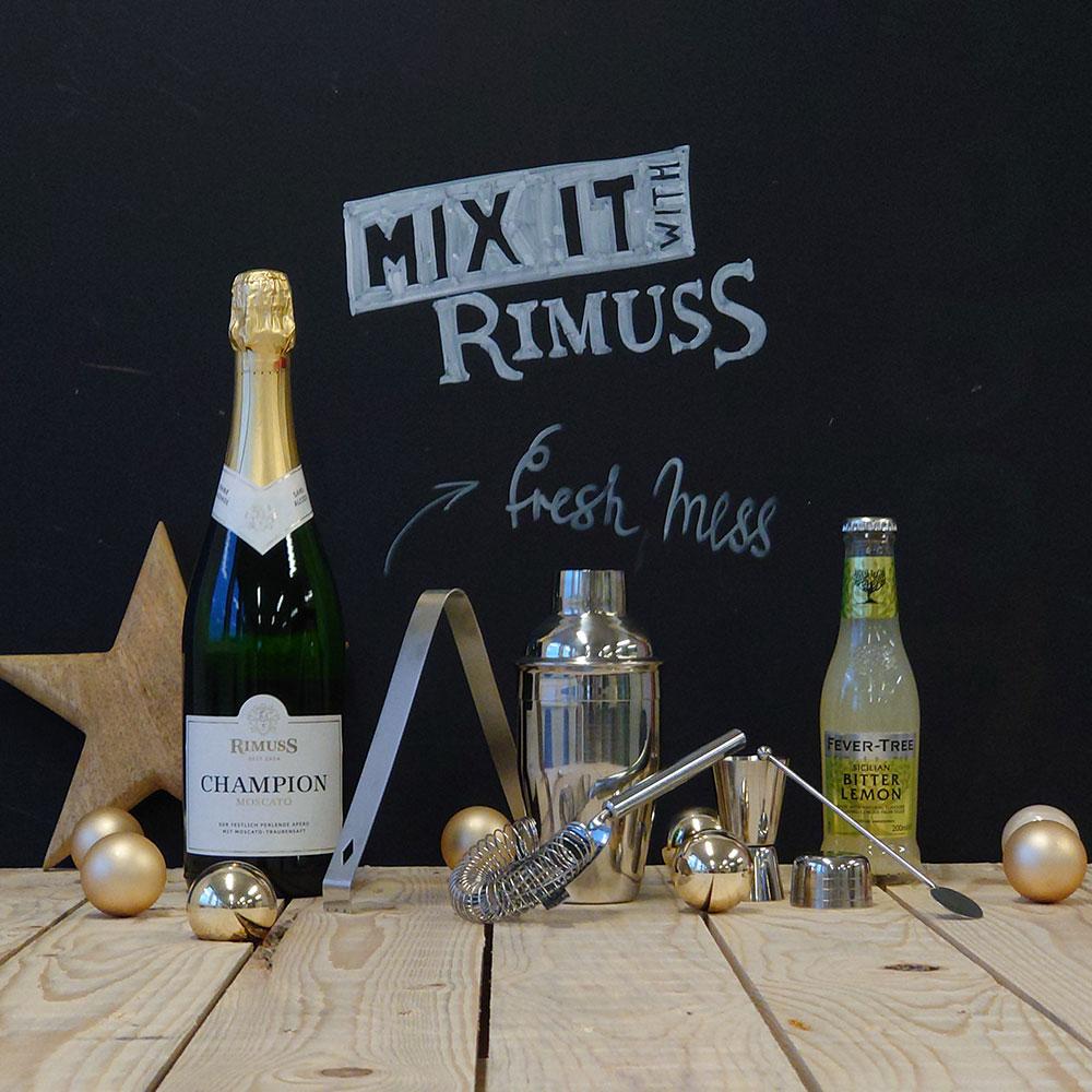 Das Mix-it Mocktailset Fresh Mess zum Gewinnen