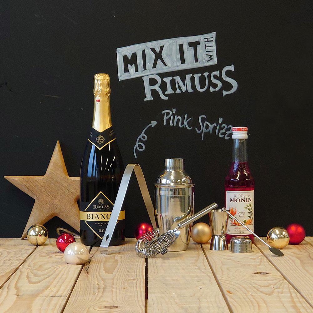 Das Mix-it Mocktailset Pink Sprizz zum Gewinnen
