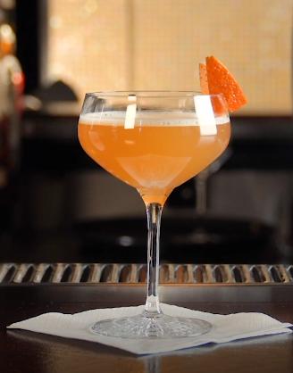 Rimuss Mocktail Red Mandarin, mit Blutorange, Mandarine, Monin Vanille Sirup