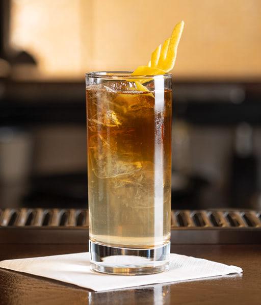 Rimuss Mocktail After Dark mit Espresso Cold Brew und Rimuss Blanc Party