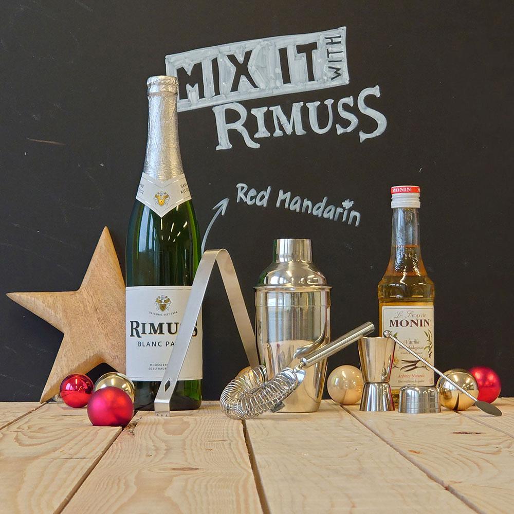 Das Mix-it Mocktailset Red Mandarin zum Gewinnen
