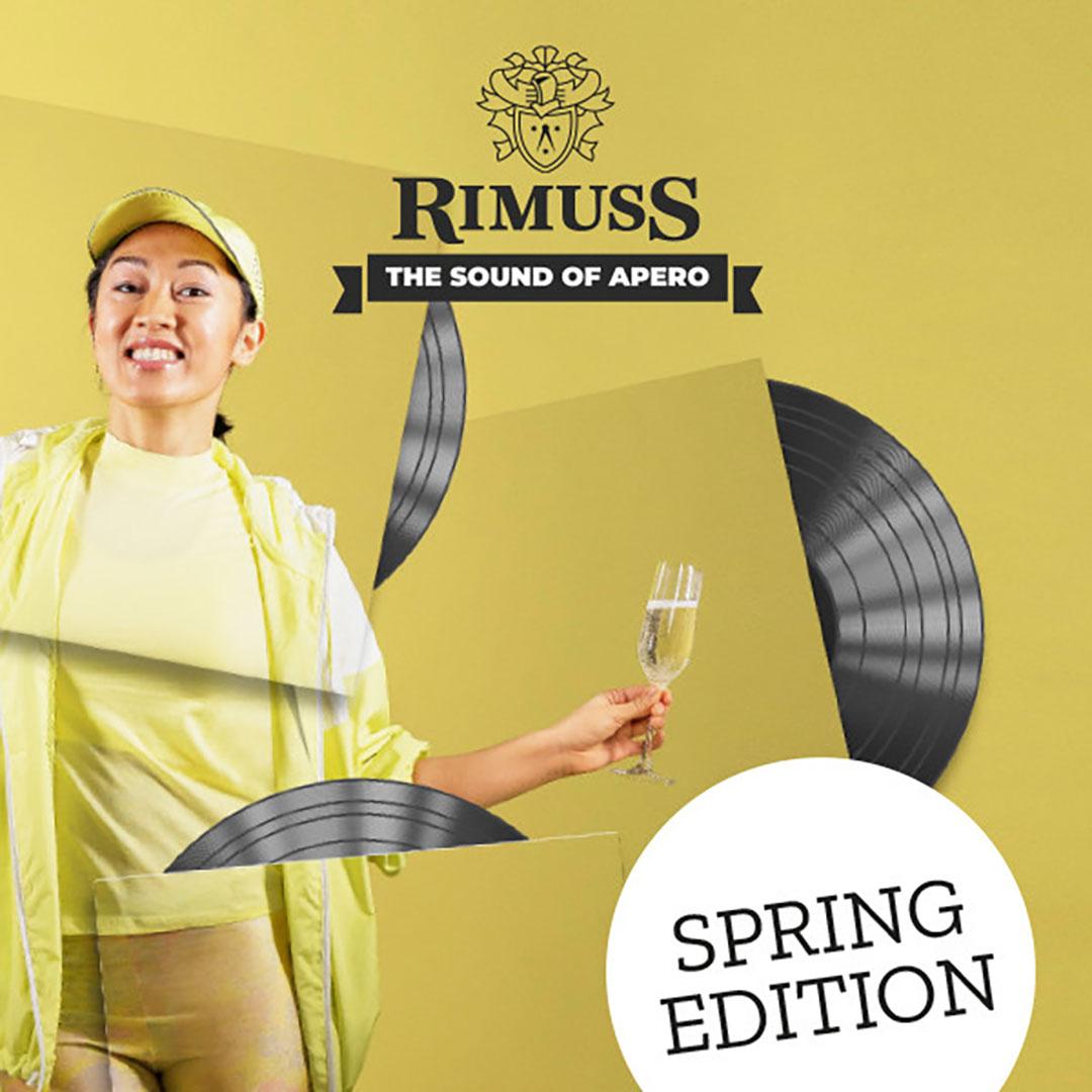 Die Rimuss Frühlingsplaylist. Perfekt für Apéros im Garten, auf der Terasse oder Balkon