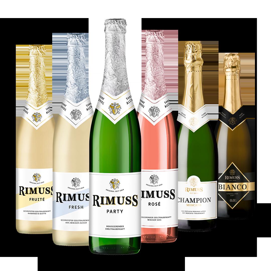 """Das Rimuss Degustieren und Probier Set """"Classic"""". Günstig alle Rimuss Sorten testen"""