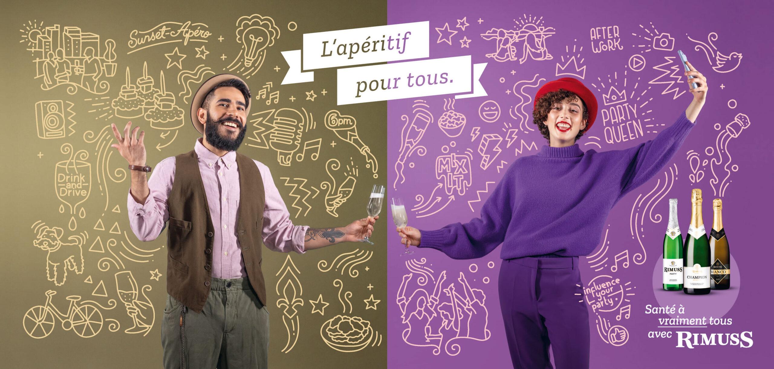 Rimuss Plakat Header Französisch