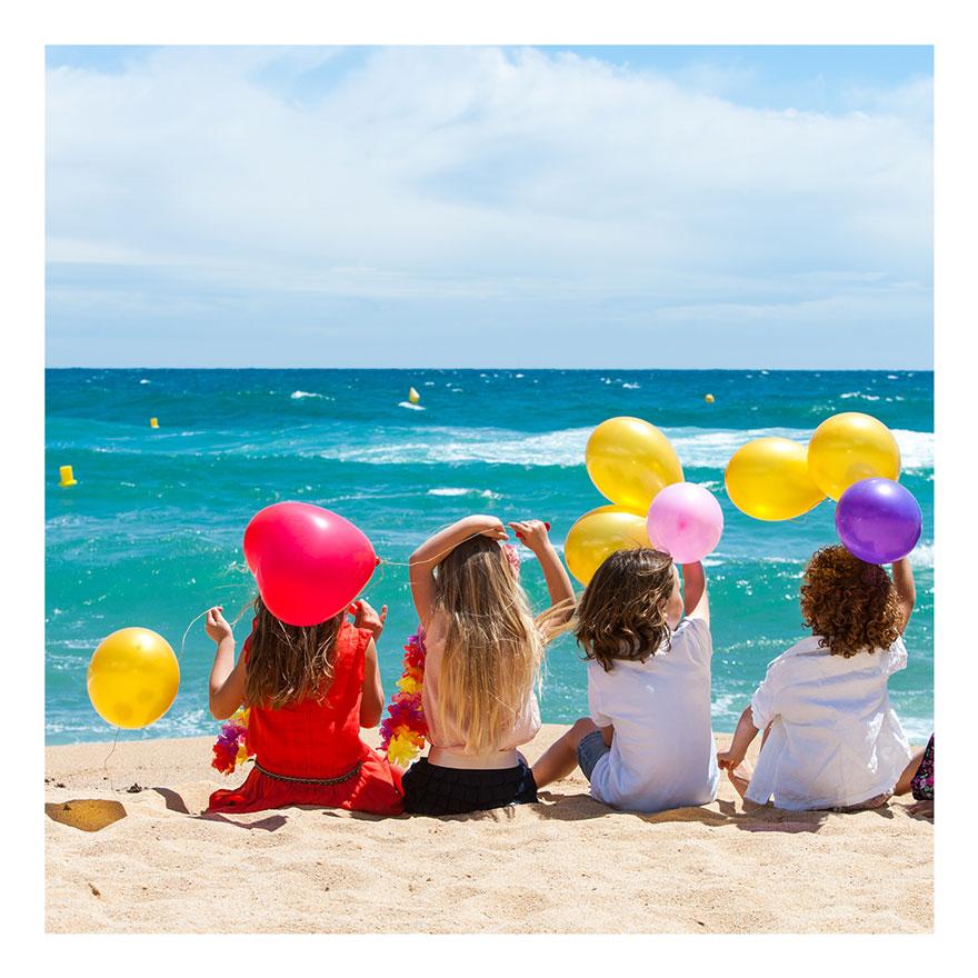 Das coole Kinder Party Motto Strand, Meer. Tolle Spiele, Rezepte für jeden Kindergeburtstag