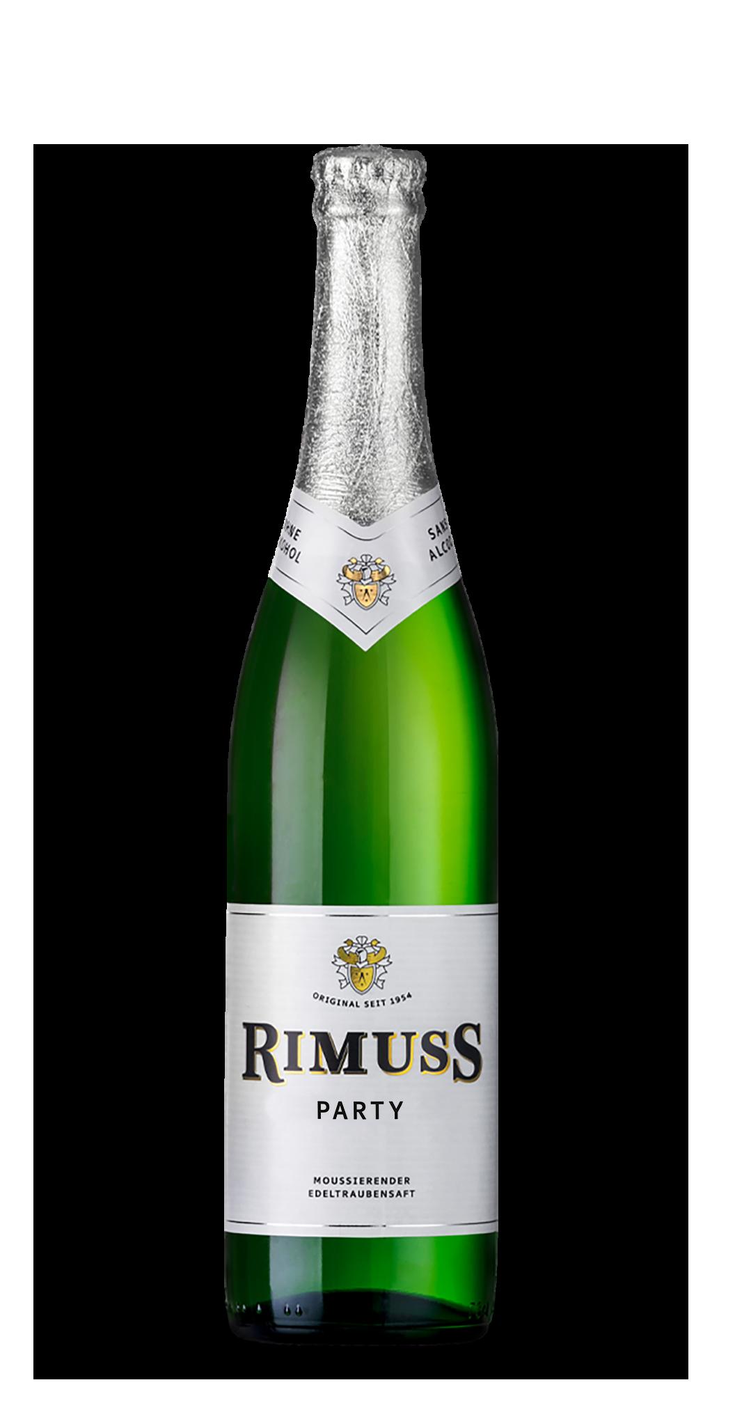 Eine Flasche Rimuss Party. Zum Apéro und Aperitif für alle