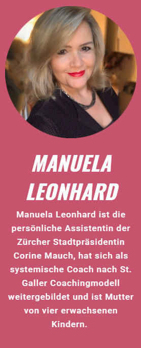 Manuela Leonhard, Keynote-Speakerin bei der Strong Women Convention 2021