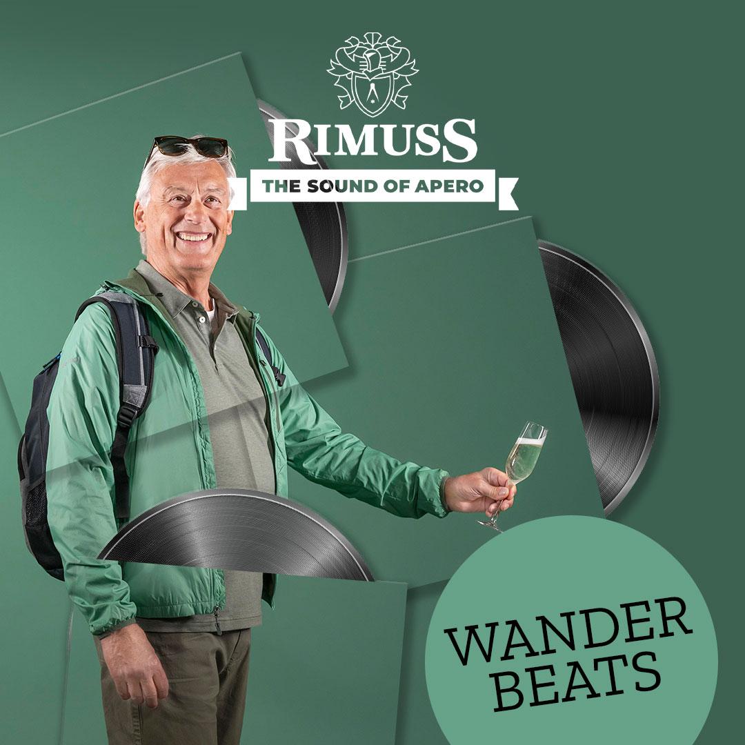Rimuss Wander Beats, die Spotify Playlist für das Wander-Picknick oder den Wander-Apéro