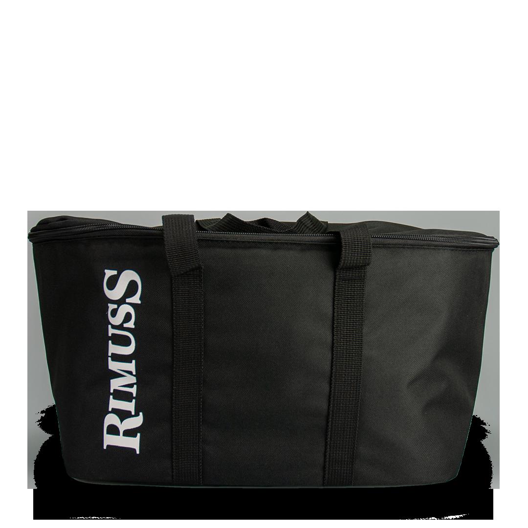 Die coole Rimuss Kühltasche. Ideal um Flaschen zum Apero und Picknick zu transportieren und zu kühlen